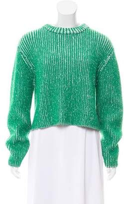 Protagonist Virgin Wool Cropped Sweater w/ Tags