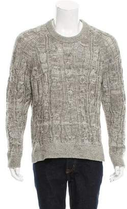 Lanvin Wool Cable Knit Sweater