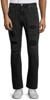 Helmut Lang MR 87 Destroyed Slim-Fit Jeans