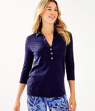 Lilly Pulitzer Ansley Polo Top
