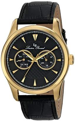 Lucien Piccard Men's LP-12761-YG-01 Stellar Analog Display Japanese Quartz Watch