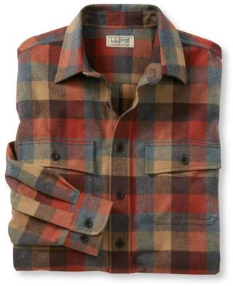 L.L. Bean L.L.Bean Men's Chamois Shirt, Plaid