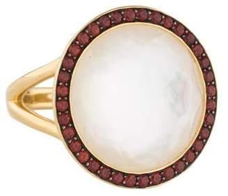 Ippolita 18K Mother of Pearl, Quartz & Garnet Lollipop Ring