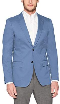 Perry Ellis Men's Very Slim Iridescent Twill Suit Jacket