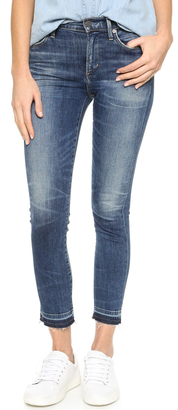 Citizens of Humanity Rocket Crop High Rise Skinny Jeans $218 thestylecure.com