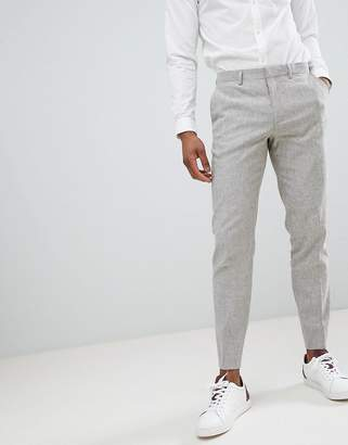 Jack and Jones Slim Fit Linen Suit PANTS