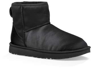 UGG Classic Mini Genuine Shearling Lined Satin Boot