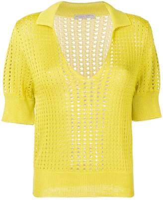 Bottega Veneta perforated blouse
