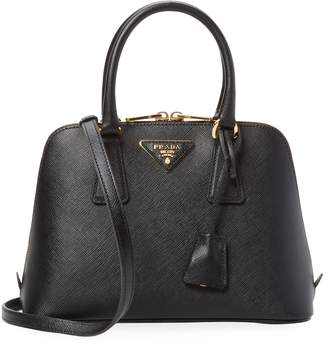 Prada Women's Saffiano Leather Mini Top Handle Satchel