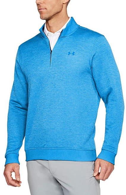 Blue UA Storm SweaterFleece Quarter-Zip - Men, Big & Tall