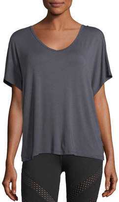 Beyond Yoga Easy Does It Jersey Athletic Tee