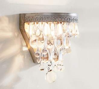Pottery Barn Clarissa Crystal Drop Sconce