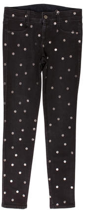 Stella McCartney Stella McCartney Polka Dot Skinny Jeans