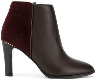 Loveless high heel ankle boots