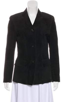 Gucci Structured Suede Blazer