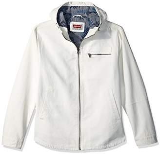 Levi's Men's Reverse Twill Cotton Swing Hooded Jacket