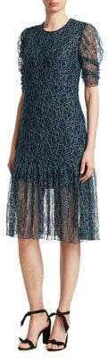 See by Chloe Floral Mesh Lace Dress