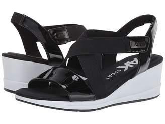e9cd71d4cb63 Anne Klein Sport Nessy Wedge Sandal