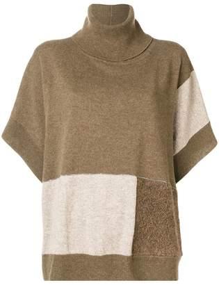 Fabiana Filippi colour block knit jumper