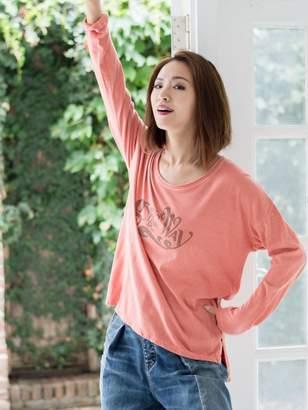 goa (ゴア) - goa C/R GYPSY&the WAYプリントロングスリーブTシャツ カットソー