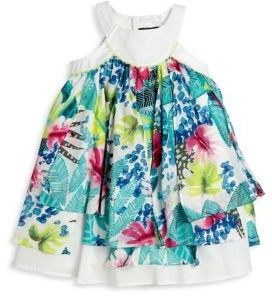 Catimini Catimini Toddler's & Little Girl's Tropical-Printed Dress