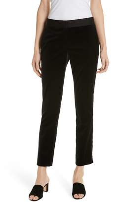 Theory Stretch Cotton Velvet Trousers