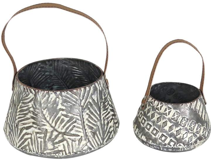 Foreside Langford Tapered Baskets (Set of 2)