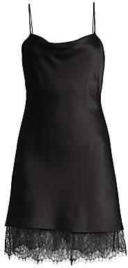Alice + Olivia Women's Harmony Lace Trimmed Dress - Size 0