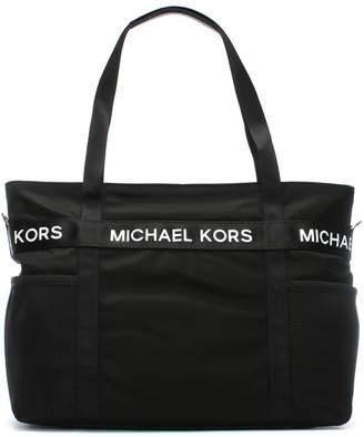 Michael Kors Large Michael Black Nylon Tote Bag