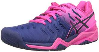 Asics Women's Gel-Resolution 7 Tennis Shoes, Blue Print 400