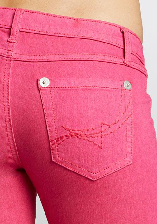 Alloy Royal Blue Colored Jegging - Pink