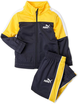 Puma Toddler Boys) Two-Piece Mock Neck Track Jacket & Jogger Pants Set