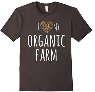 I Love My Organic Farm tshirt - for farmers & gardeners!
