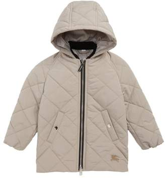 Burberry Mila Quilted Hooded Jacket