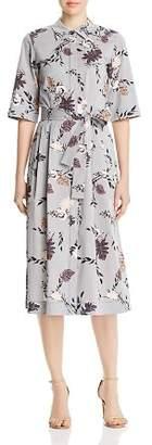 Lafayette 148 New York Eleni Belted Shirt Dress