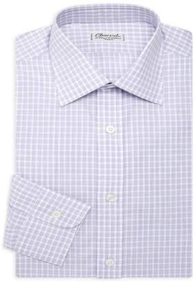 Charvet Melange Check Dress Shirt
