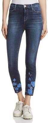 J Brand Alana High Rise Crop Jeans in Morning Glory - 100% Exclusive $248 thestylecure.com