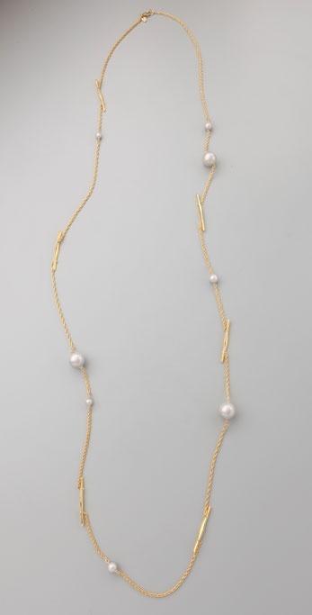 Alexis Bittar Twig Long Necklace