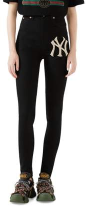 Gucci NY Patch Skinny Jeans