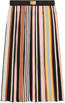 47f4fe9c5f71d Tory Burch Striped Sweater Skirt