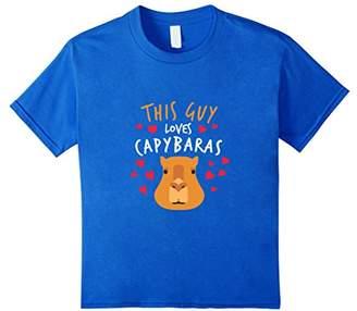 This Guy Loves Capybaras T-Shirt