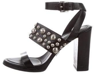 Michael Kors Studded Leather Sandals