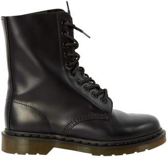 Dr. Martens Black Leather Ankle boots