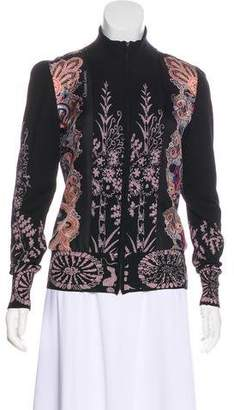 Christian Lacroix Wool Printed Jacket