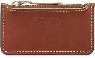 Red Wing Shoes Once Leather Zipper Pouch