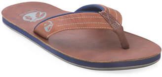 Hari Mari x Nokona Men's Leather Thong Sandals, Walnut
