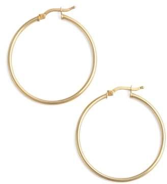 Bony Levy 14k Gold Hoop Earrings