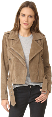 Parker Ace Suede Jacket $625 thestylecure.com