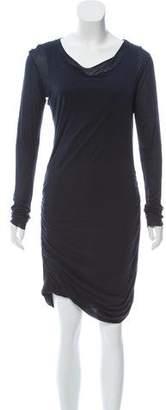 A.L.C. Ruched Asymmetrical Dress