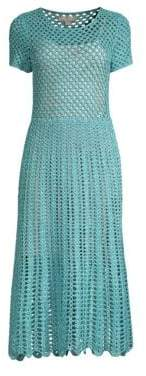 Michael Kors Crochet Midi Dress